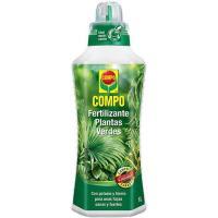 Fertilizante liquido plantas verdes COMPO,1l