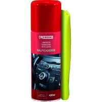 Limpia salpicaderos spray con bayeta EROSKI, envase 400ml