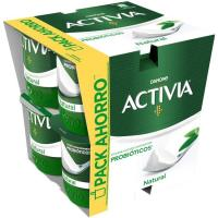 Activia natural DANONE, pack 8x120 g
