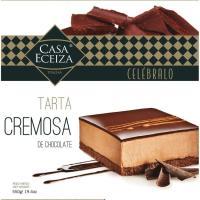 Tarta cremosa de chocolate CASA ECEIZA, caja 550 g