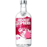 Vodka Raspberry ABSOLUT, botella 70 cl