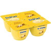 Natillas de vainilla DANONE Danet, pack 4x120 g