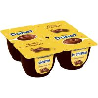Natillas de chocolate DANONE Danet, pack 4x125 g