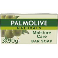 Jabón verde PALMOLIVE, pastilla, pack 3 uds.