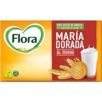 Galleta María dorada FLORA, caja 400 g