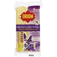 Pinza antipolilla ORION, pack 2 unid.