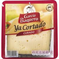 Queso curado G. BAQUERO, cuña cortada 250 g