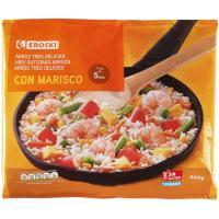 Arroz 3 delicias-marisco EROSKI, bolsa 500 g