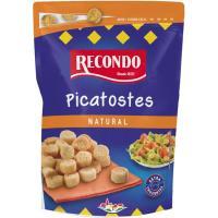 Picatostes tostados naturales RECONDO, bolsa 80 g