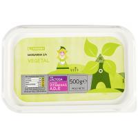Margarina vegetal EROSKI, tarrina 500 g