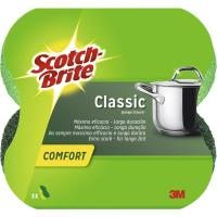Salvauñas Confort Fibra Verde SCOTCH-BRITE, pack 2 unid.