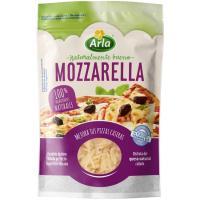 Queso rallado Mozarella ARLA para pizza, bolsa 150 g