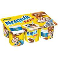 Petit de chocolate NESQUIK Milkybar, pack 6x55 g
