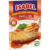 Filete de atún con tomate ISABEL, sobre 150 g