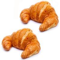 Croissant curvo, bandeja 4 unid.