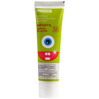 Dentífrico infantil EROSKI, tubo 50 ml