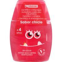 Dentífrico 2en1 Infantil EROSKI, bote 75 ml