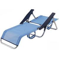 Silla cama de aluminio-textiline c/ asa 83x60x77 cm 2,1 kg, 1 ud