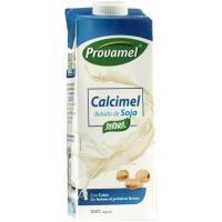 Bebida de soja con calcio PROVAMEL, brik 1 litro
