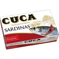 Sardina en salsa picante CUCA, lata 120 g