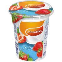 Postre lacteo con frutas MONDELICE, tarro 500g