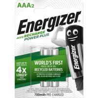 Pila recargable HR03 (AAA) 700 mAh ENERGIZER, pack 2 uds