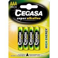 Pila super alcalina LR03 (AAA) CEGASA, pack 4uds