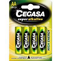 Pila super alcalina LR06 (AA) CEGASA, pack 4 uds.