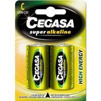Pila super alcalina LR14 (C) CEGASA, pack 2 unid.