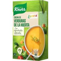 Crema de verduras de la huerta KNORR LIGERESA, brik 500 ml