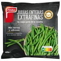 Judía verde entera extrafina FINDUS, bolsa 400 g