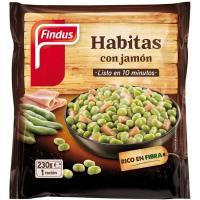 Habitas con jamón FINDUS Verdeliss, bolsa 230 g