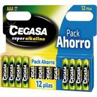 Pila super alcalina LR03 CEGASA, pack 12 unid.
