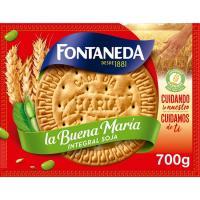 Galleta La Buena María integral con soja FONTANEDA, caja 700 g