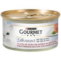 Alimento de atún para gato GOURMET Diamant, lata 85 g