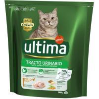Control tracto urinario para gato ULTIMA, paquete 800 g