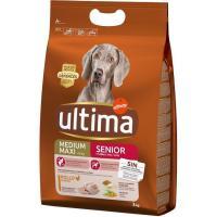 Alimento para perro senior +7 años ULTIMA, saco 3 kg