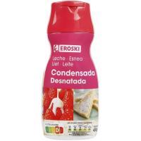 Leche Condensada Desnatada EROSKI, dosificador 450 g