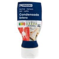 Leche Condensada EROSKI, dosificador 450 g