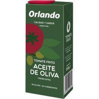 Tomate frito con aceite de oliva ORLANDO, brik 350 g