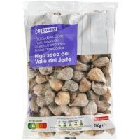 Higos secos EROSKI, bolsa 1 kg