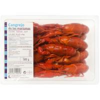 Cangrejo de río cocido, bandeja 500 g