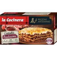 Lasaña a la barbacoa LA COCINERA, caja 530 g