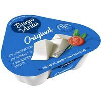 Queso fresco natural BURGO de ARIAS, pack 3x72 g