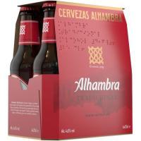 Cerveza ALHAMBRA Tradición, pack 6x25 cl