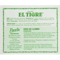 Gasificante en polvo EL TIGRE, caja 39 g