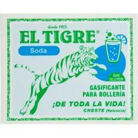 Gasificante sin azúcar EL TIGRE, caja 39 g
