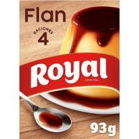 Flan ROYAL, 4 unid., caja 93 g