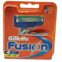 Cargador manual GILLETTE Fusion, pack 4 unid.