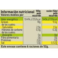 Atún claro en aceite de oliva EROSKI, pack 6x80 g